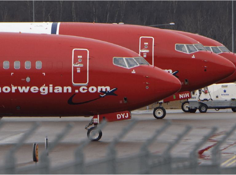 Customer Success Story: Norwegian Air hero image